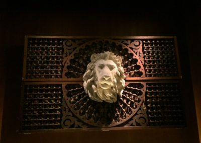 PLASTER AND RESIN LION HEAD_QUALITY ITALIAN_DENVER